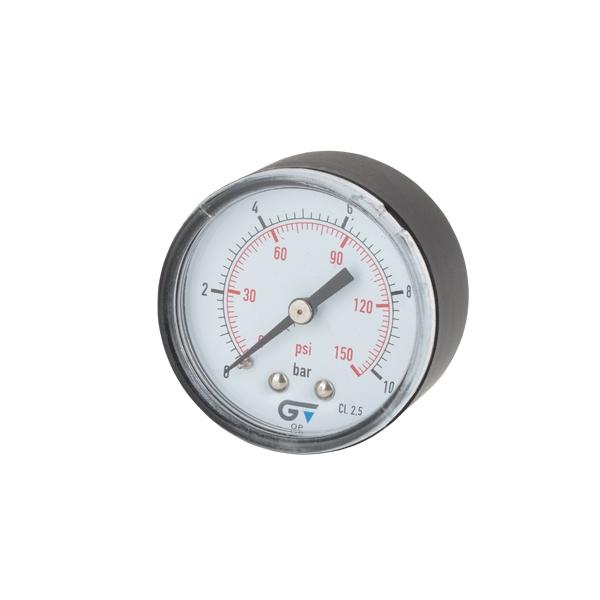 """Pressure gauge Ø50 – ¼"""" back connection"""
