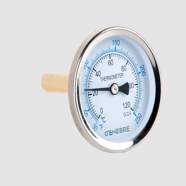 Bimetalni termometar aksijalni priključak 50 mm