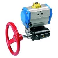 Ručni reduktor za prinudno otvaranje i zatvaranje ventila sa pneumatskim pogonom