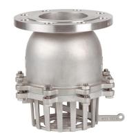 Nepovratni prirubnički ventil sa ručnim pražnjenjem