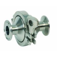 Inox nepovratni ventil brza spojnica (Clamp)