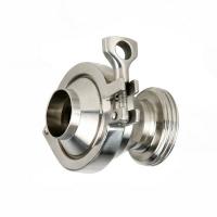Inox nepovratni ventil navoj / kraj za zavarivanje